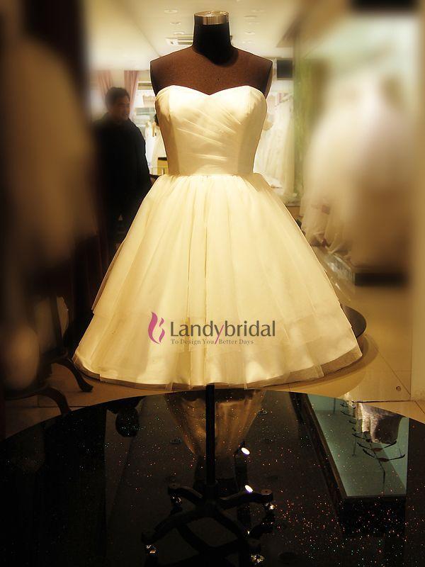 ランディブライダル landybridal ウェディングドレス ミニ