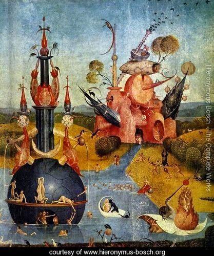 #Fantasia1 #IlGiardinoDelleDelizie #Bizzarre #Architetture #Bosch #Arte Approfondimenti su Glob-Arts: http://glob-arts.blogspot.it/2014/05/fantasia-1.html #Chenepensate?