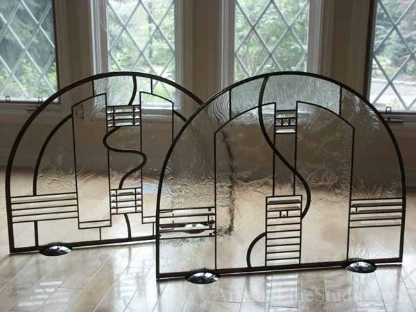1000 images about stained glass fire screens on pinterest