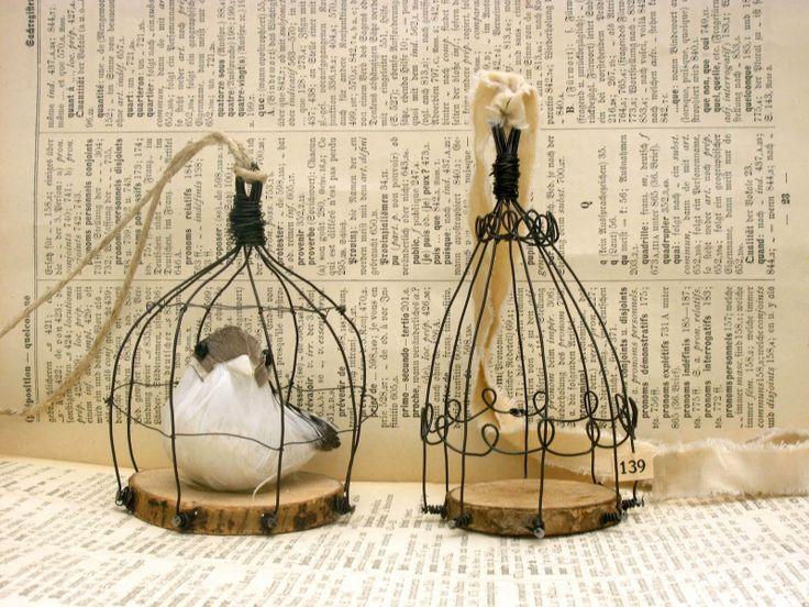 Eingestellt von Sanja um Sonntag, Juni 26, 2011 --- wire cage ornament
