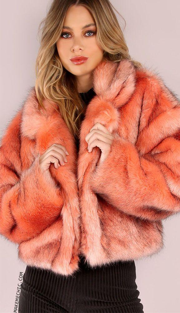 56 best faux fur coat images on Pinterest | Faux fur coats, Jacket ...