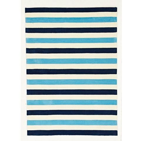 Blue Stripe 220 x 150 cm  Floor Rug