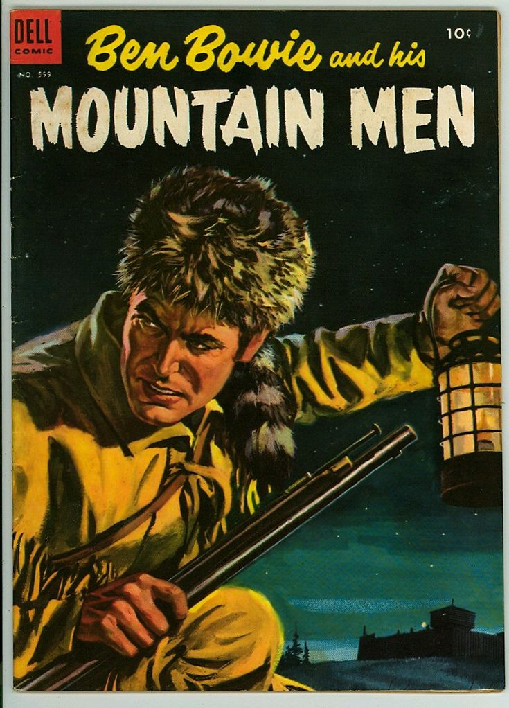 Four color 599 vg 40 dell comic mountain man comic