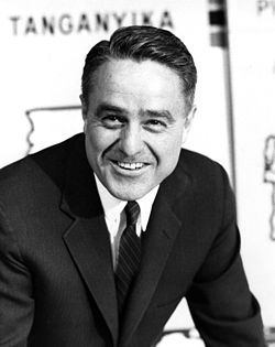 Robert Sargent Shriver, Jr., was the driving force behind the creation of the Peace Corps.