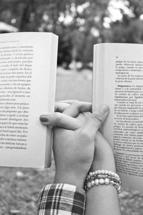 Love and book...