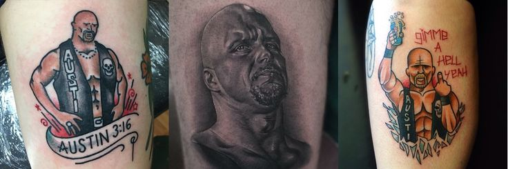 Gimme A Hell Yeah For These Stone Cold Steve Austin Tattoos – staciemayer.com