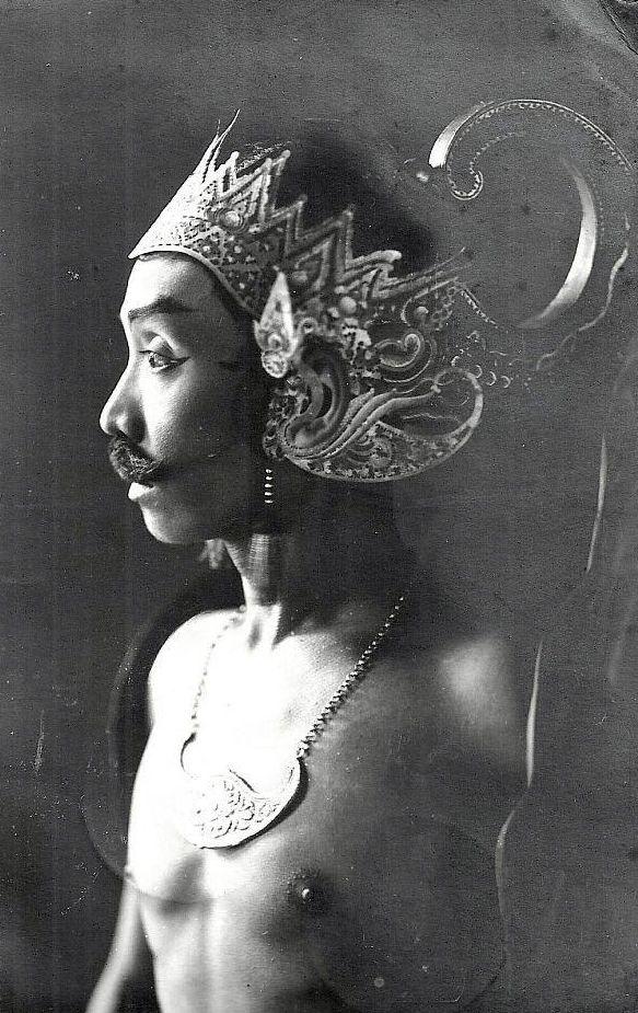 "grand-bazaar: "" 1935 Java Indonesia - Wayang Wong Dancer """