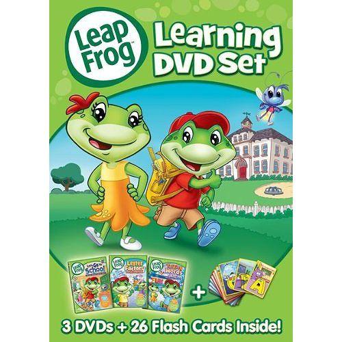 リープフロッグ Leap Frog DVD3枚+フラッシュカード26枚セット 北米版DVD Learning DVD set フォニックス入門編としてもお勧めです DVD Direct ヤフー店 - Yahoo!ショッピング - Tポイントが貯まる!使える!ネット通販
