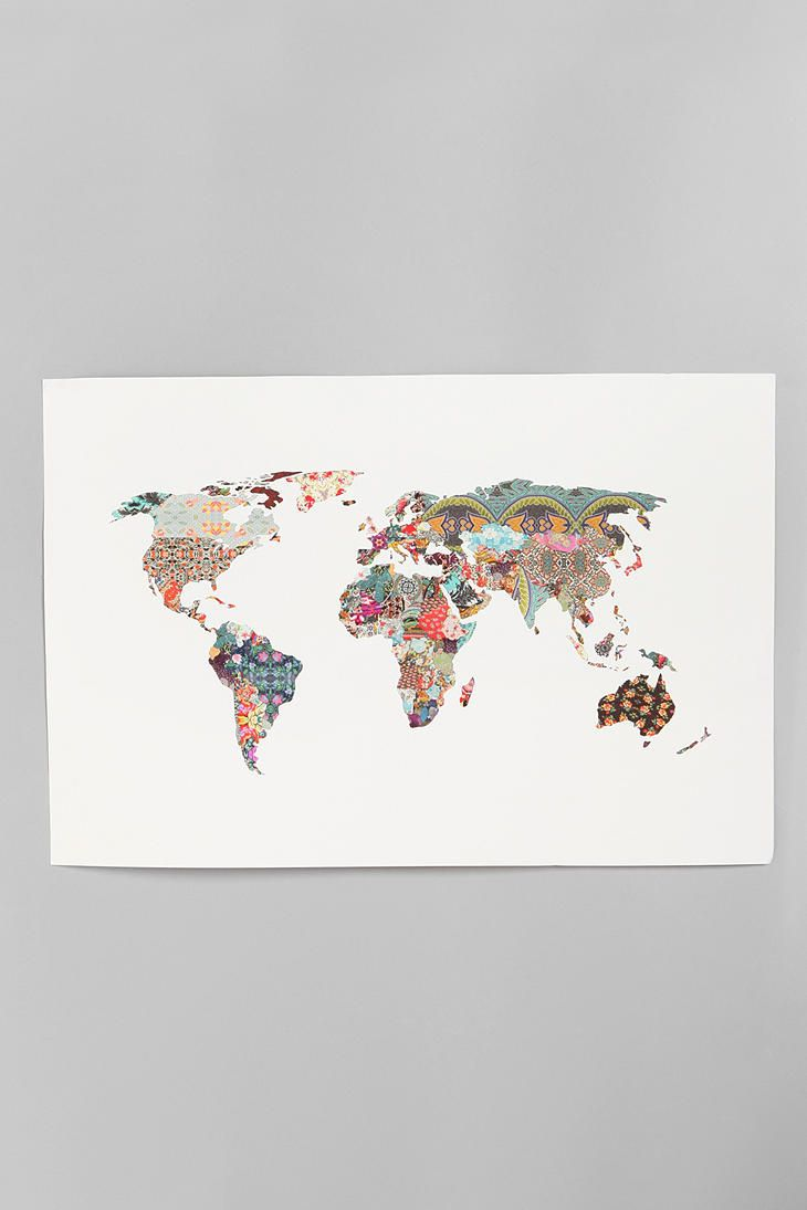 Best Travel Map Images On Pinterest - Us travel map poster