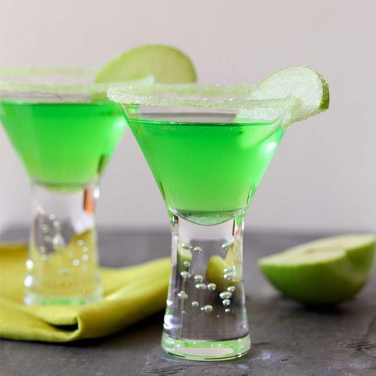 Appletini Cocktail Rim Sugar - Apple flavored rimming sugar