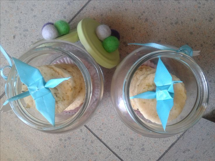 Gift in a jar #Origami #cookies