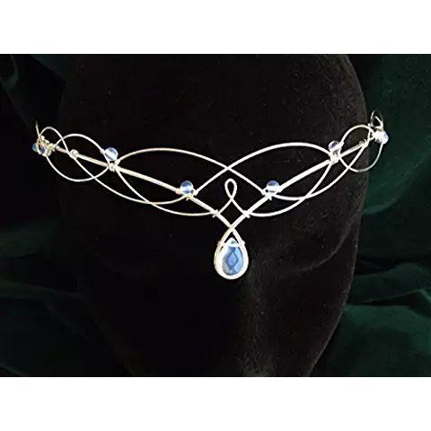 Moonstone Circlet, Celtic Wedding Tiara