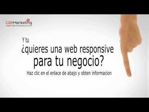 Diseño web Responsive Deseas una pagina web que se pueda ver correctamente en móviles, tablet, y ordenadores, acá una solución innovadora y creativa
