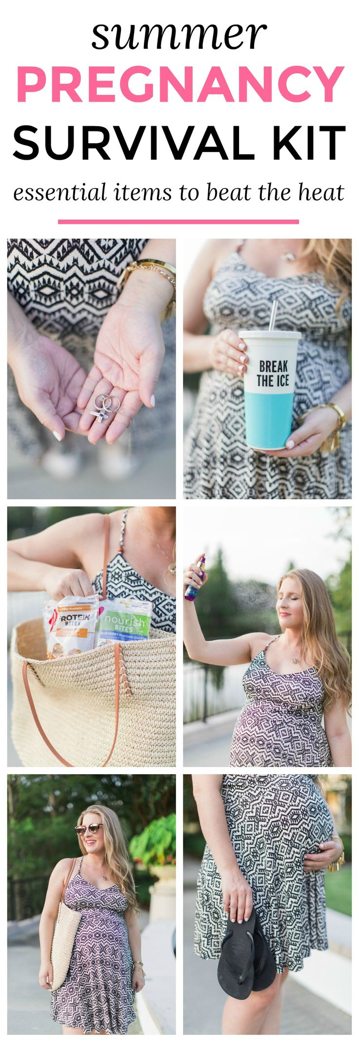 Summer Pregnancy Survival Kit – The summer pregnancy essentials that will help you survive the heat with Orlando, Florida lifestyle blogger Ashley Brooke Nicholas #OwnIt sponsored by Special K | maternity fashion, maternity outfit ideas, maternity tips, pregnancy tips