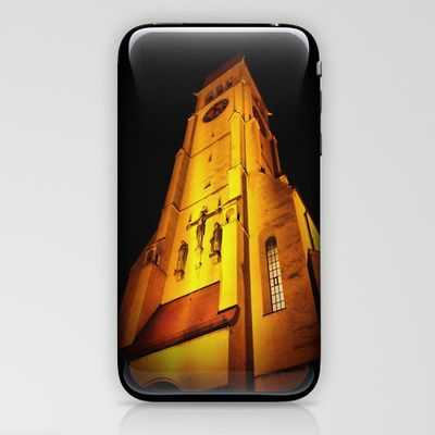 Church at Night iPhone & iPod Skin by AngelEowyn. $15.00