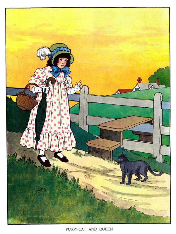 The Real Mother Goose Cat And Queen Children S Stories Poems Rhymes Pinterest Ilrations