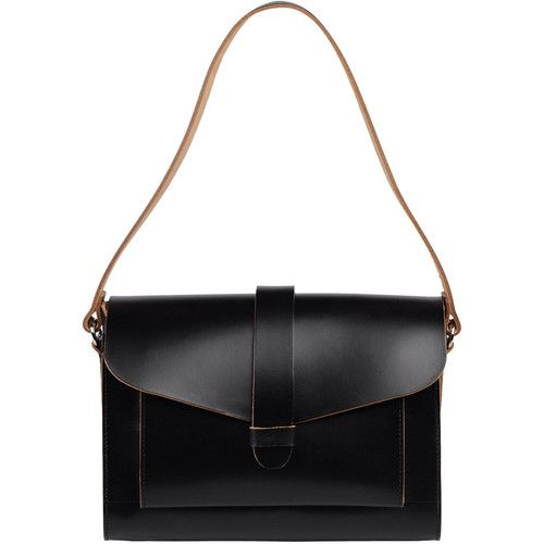 // marni: Shoulder Bags, Leather Satchel, Black Bags, Chic Department, Fall Bags, Marni Leather, Black Leather, Awesome Handbags, Leather Bags