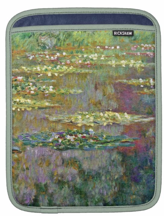 Hot Watter Lilies Ipad Sleeve design be ready purchased or customized. by @CutephoneCases http://www.zazzle.com/cuteiphone6cases* See more #floral Water Lilies designs http://www.zazzle.com/ipad+sleeves?gp=105309260229382083&ps=120&rf=238478323816001889