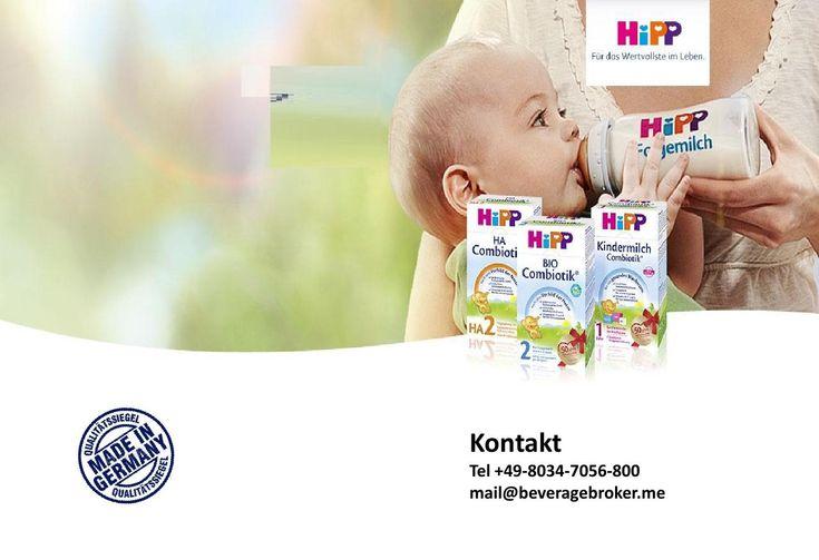 HIPP PRODUKTE  Wir liefern Baby Nahrung von HIPP- Milupa/Danone Aptamil Produkte Mehr Information +49-8034-7056800 mail@beveragebroker.me