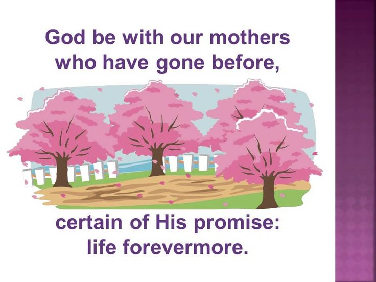 """""""Honor Christian Mothers"""" A Mother's Day Hymn 