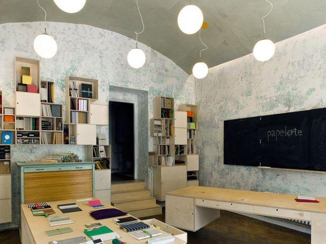 Papelote papírnictví. Design: A1 architects.