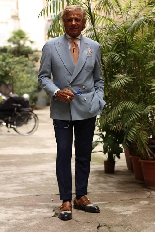 Milano's most elegant man