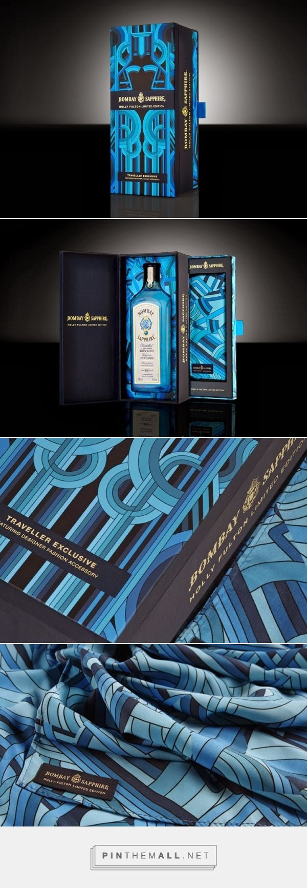 Bombay Sapphire x Holly Fulton limited edition 'Traveller Exclusive' gift set by GLOCK