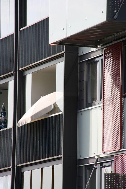 Facade of a Copenhagen apartment