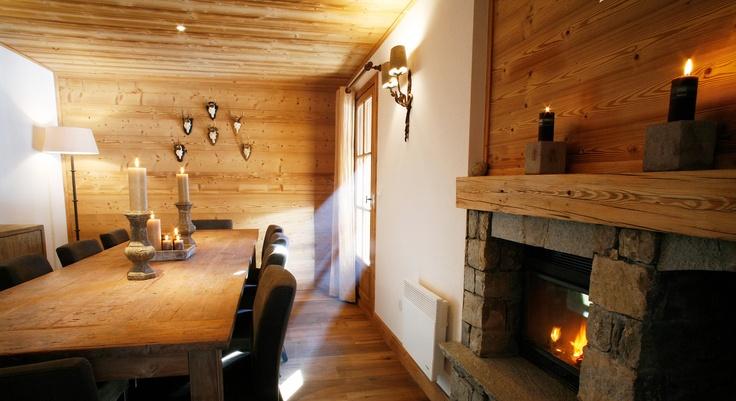 Aspen Lodge (Living Room) - Courchevel
