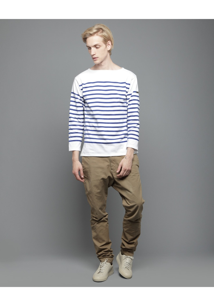 104 best red striped sslv saint james shirt images on for St james striped shirt