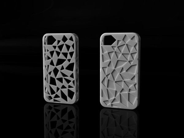 3D Printed iPhone Cases by Irina Alexandru/ AIRA design studio , via Behance