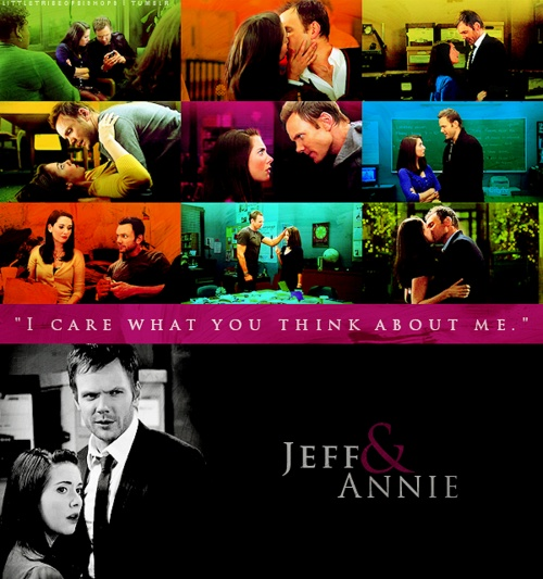 Jeff and Annie. I will go down with this ship.