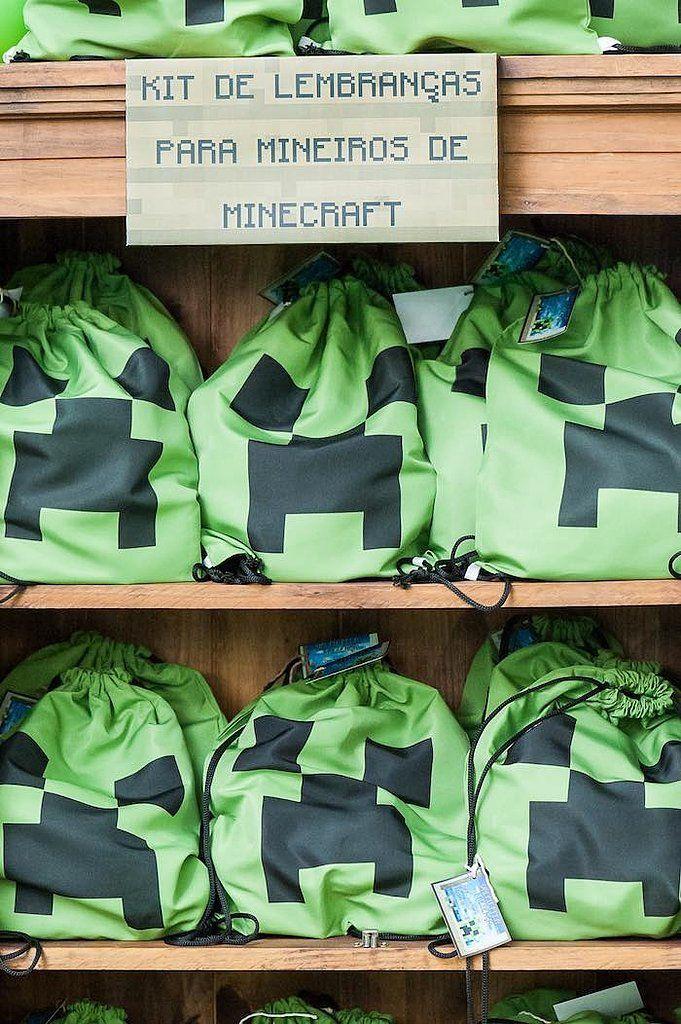 Ideias criativas para festa Minecraft! - Just Real Moms