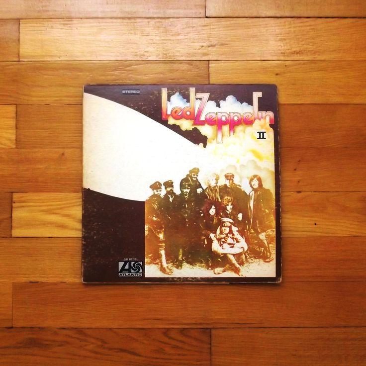 One of my favorit vinyl records # Led Zeppelin - II, 1969