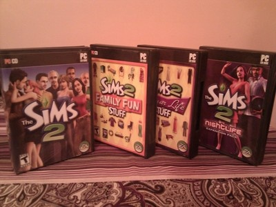 The Sims 2 PC Game with 3 Expansion Packs (Family, Glamour, & Nightlife)