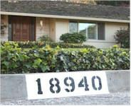 House Number Fundraiser. For this fundraising idea, paint street numbers on curbs in front of houses. Using a cardboard cutout, paint a dark rectangular background on the curb. After it dries, paint the house number in reflective paint. Before you start, contact the Licensing and Permit section of your local municipality to see if a permit is required.