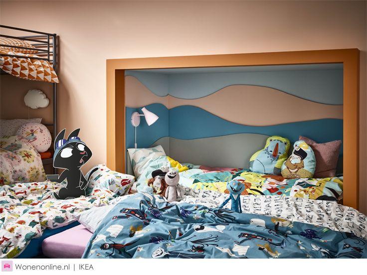 Bedtijd is een feestje met IKEA #kinderkamer #slaapkamer #bedroom #kidsroom