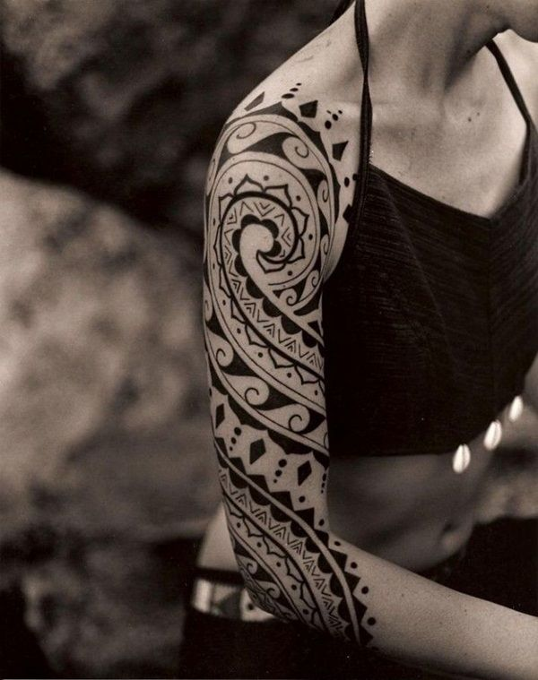 Maori Tattoos for girls (36)