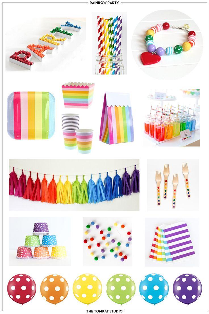 The TomKat Studio: Host a Rainbow Birthday Party!