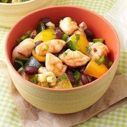 Zesty Shrimp & Black Bean Salad - EatingWell.com
