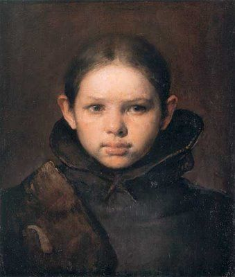 Amo - Portrait of the Artist's Daughter by Odd Nerdrum..    Odd Nerdrum is a Norwegian figurative painter. Themes and style in Nerdrum's work reference anecdote and narrative, while primary influences by the painters Rembrandt and Caravaggio-   Of the modern painters of the 20th century, Nerdrum is one of those that is an inspiration to look at.    #Artowrk #ContemporaryArt #Paintings #cool