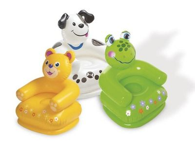 2017 New baby  small sofa cute duck Inflatable baby bath stools Baby toys Children baby travel animal portable chair