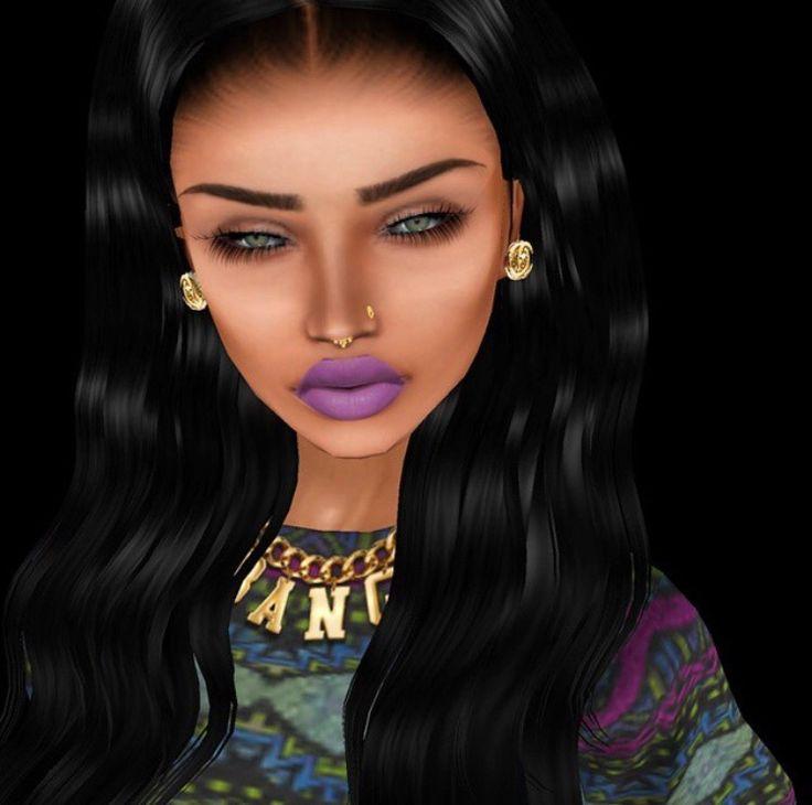 Avatar Woman: Me Carmelluh Imvu Imvu Girls T Avatar Cartoon Girls