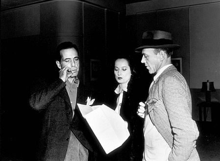 Humphrey Bogart, Merle Oberon, and Fred Astaire