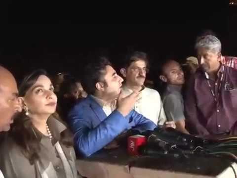 Bilawal Bhutto Zardari and Syed Murad Ali Shah performing Diwali rituals
