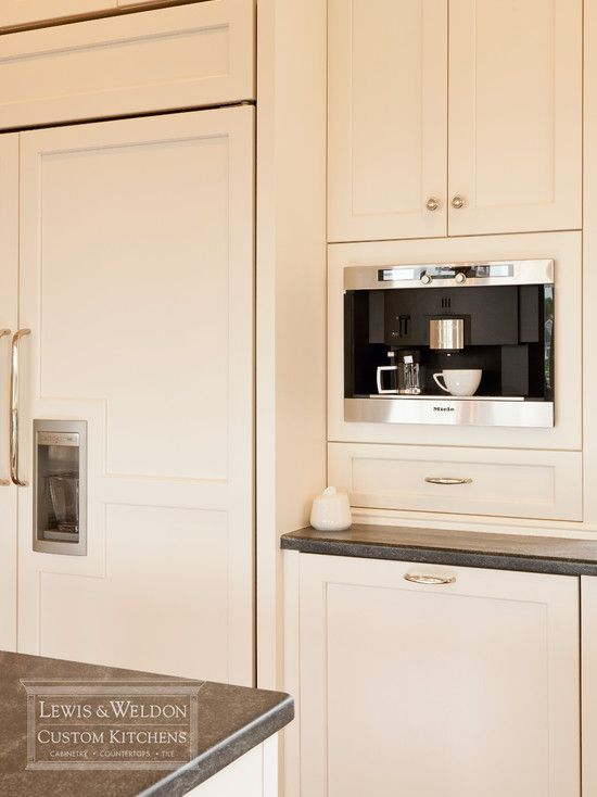 Best 25 built in coffee maker ideas on pinterest for Kitchen cabinet makers