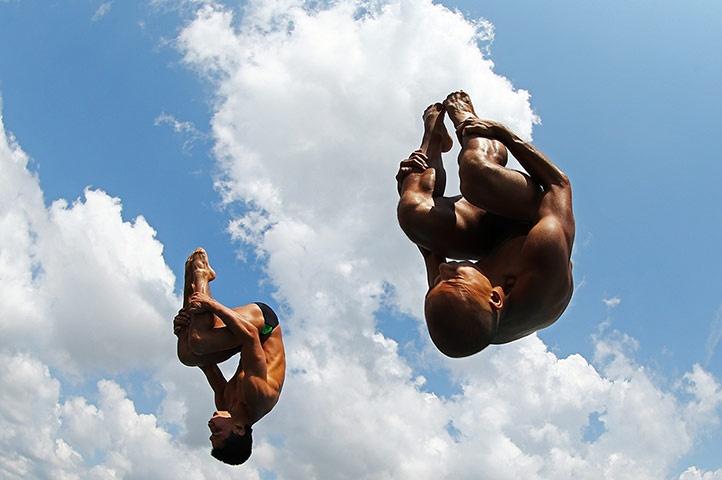 USA Diving Grand Prix: Rios & Ortega | By  Al Bello || #Sport #Photography.
