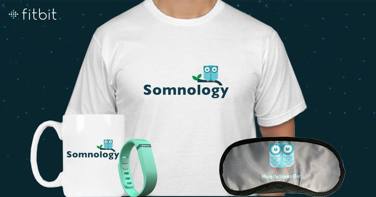 Somnology's free app, MobileSleepDoc Pro, can integrate with FitBit or you can log your sleep manually to track and get reports on you sleep patterns and more.