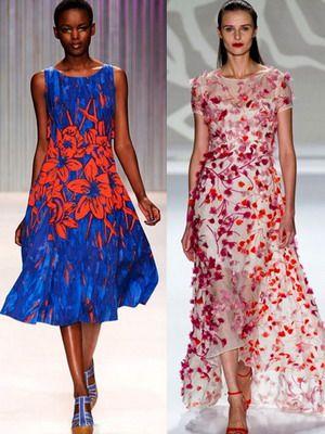 Красивые и модные летние платья в 2016 году: фото фасонов и мода на легкие короткие платья