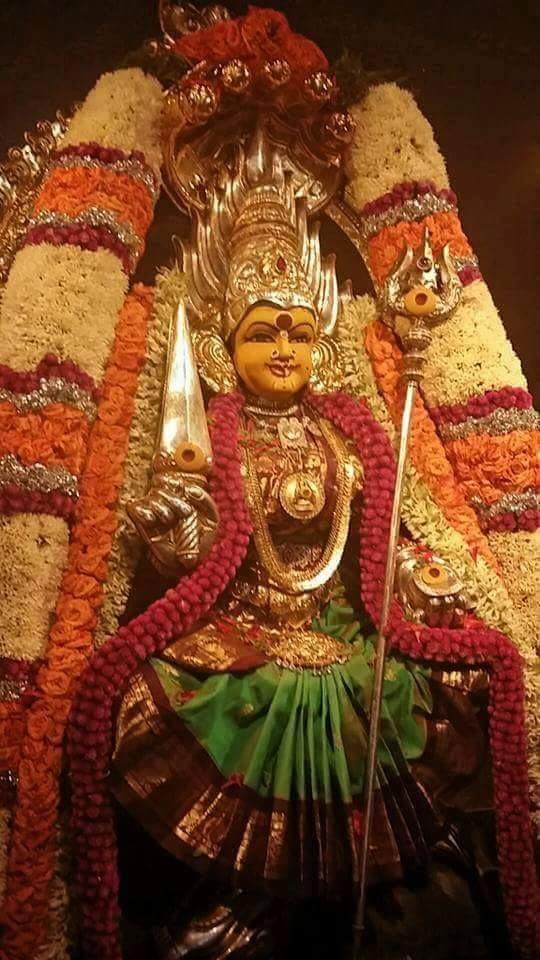 Namo Deviyai Mahadeviyai Shivaayai sathatham namah